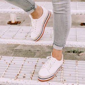 Vince Camuto Espadrille Platform Sneaker